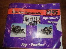 Arctic Cat Jag Panther Owners Operators Manual 1995