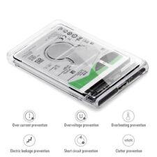 "2,5 ""caja herramientas de disco duro transparente USB 3.0 HDD Case libre"