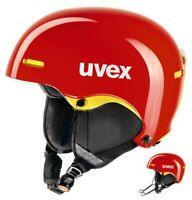uvex hlmt 5 race Skihelm Snowboardhelm Helm chillired/yellow Alpin Ski Snowboard