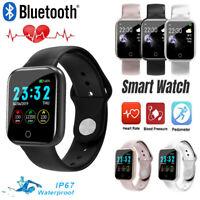I5 Bluetooth Smart Bracelet Sports Watch Waterproof Heart Rate Pressure Monitor