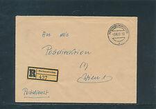 Postdienst-Recobrief 1953 aus Hochneukirchen   15/6/15