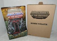 MOTUC Masters of the Universe Classics Horde Wraith Figure MOC Sealed w/ mailer