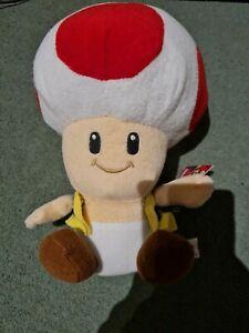 Nintendo Toad Plushie Soft Toy Mario