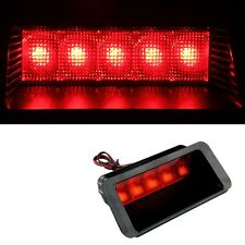 Car Warning 5LED Rear Tail 3rd Brake Stop Light Fog Lamp Red Useful