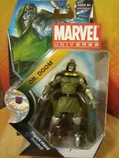 "Dr. Doom Marvel Universe On Card 3.75"" Fantastic Four Hasbro"