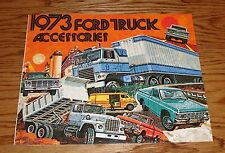 Original 1973 Ford Truck Accessories Sales Brochure 73 Pickup