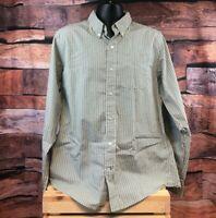 Duck Head Long Sleeve Men's Shirt Size XL Striped Multi-Color Dress Shirt
