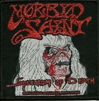 MORBID SAINT - Spectrum Of Death - Woven Patch / Aufnäher