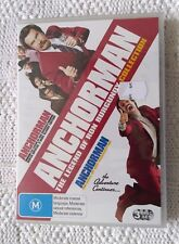 ANCHORMAN-THE LEGEND OF THE RON BURGUNDY COLLECTION – DVD, 3-DISC SET, R-4, NEW