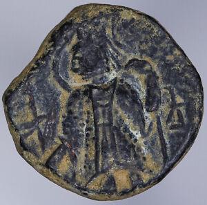 India Kushan Empire Kanishka II 230-247 AE Unit ANS Kushan 1206