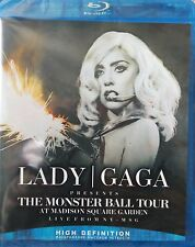 Lady Gaga The Monster Ball Tour At Madison Square Garden Blu-Ray Disc New Sealed