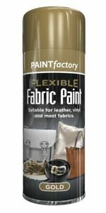 Flexible Fabric Spray Paint Leather Vinyl Textile Clothes Fast Drying - 200ml