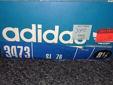 PREOWNED  VTG ADIDAS SL76...MADE IN GERMANY....SIZE 8.5...WIT BOX...EUC