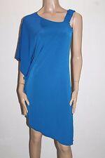 Veducci Designer Royal Blue One Shoulder Cocktail Dress Size 10-S BNWT #SC74