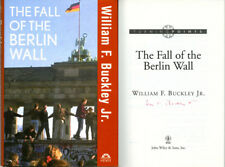 William F. Buckley Jr. SIGNED AUTOGRAPHED The Fall of the Berlin Wall HC 1st Ed