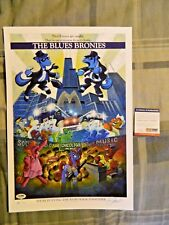 My Little Pony Andy Price Signed and Numbered Print The Blues Bronies PSA/DNA