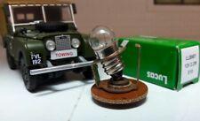 JAEGER HERREROS instrumentos Válvula LUCAS E10 Portalámparas Land Rover Serie 1