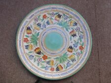 """Charlotte Rhead 12"""" Charger in the TL14 pattern by H.J. Wood excellent condition"""
