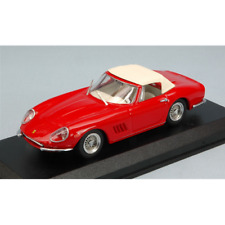FERRARI 275 GTB SPYDER N.A.R.T. 1967 RED 1:43 Best Model Auto Stradali Die Cast