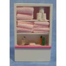 Toilettenartikel mit Regal / Toiletries & Shelf Puppenstube Dollhouse 1:12 DF109
