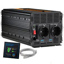 Convertitore 2000W 4000W Peak DC 24V a AC 220V Power Inverter softstart 2 USB