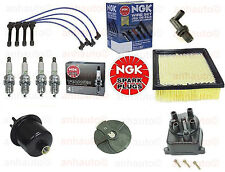 Tune Up Kit Filters,Cap,Rotor,NGK Wires & Spark Plugs For: Honda CRV 1999-2001