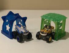 Blaze & The Monster Machines Light Rider Darington & Stripes With Tunnels