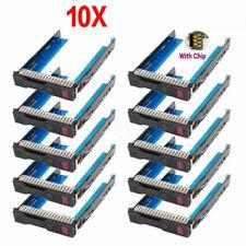 "10Pcs 3.5"" LFF Hot-Swap HDD Caddy Für HP Proliant ML350e ML310e SL250s Gen8 Gen9"