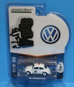 GREENLIGHT 1:64 Club V-Dub R11 1964 Volkswagen Beetle - Scottsboro, Al Police