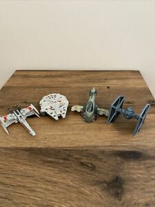 Star Wars Die Cast Ships x 4