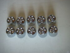 """Chrome Skull Covers for 1/4"""" Allen used on Harley-Davidson Engine side covers"""