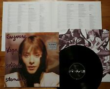 Suzanne Vega - Solitude standing D'87 + OIS + Texte - Tom's Diner Luka TOP Mint