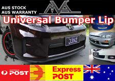 Universal Bumper Lip Spoiler Splitter for Ford Focus Mondeo Laser XR5 Turbo SR 2