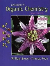 WIE Introduction to Organic Chemistry by Brown, William H., Poone, Thomas