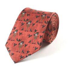 Beefeaters Printed Silk Necktie - Mens Neck Tie Party Wedding Casual