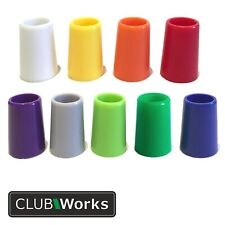 """Golf club ferrules - 9 colours - For .355"""" tip irons - Length 20mm x Dia 13.8mm"""