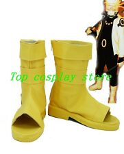 NARUTO Naruto Uzumaki Boruto fans art Cosplay Boots shoes Yellow ver shoe boot
