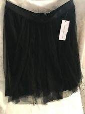 French Connection Tulle Skirt Black Size 8