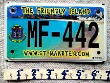 ST MAARTEN License Plate Tag  2005 -  MOTORCYCLE