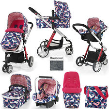 COSATTO GIGGLE 2 MAGIC UNICORNS TRAVEL SYSTEM PUSHCHAIR CAR SEAT FROM BIRTH
