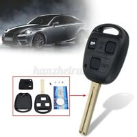 3 Buttons Remote Control Key Fob Case For Lexus IS200 GS300 LS400 RX300 W WY