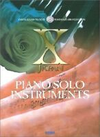 X Japan Piano Solo Instruments Sheet Music Score Book Visual J-Rock w/CD New