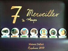 Fève Coffret Exceptionnel Les 7 Merveilles De Aups Maison Dallari 2019