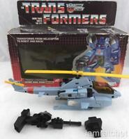 Transformers Original G1 1985 Whirl Figure Complete w/ Box