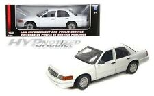 MOTORMAX 1:18  2001 FORD CROWN VICTORIA SPECIAL SERVICE DIE-CAST WHITE  73527
