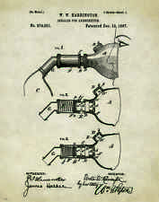 Medical Doctor Patent Poster Art Print Surgeon Nurse Instruments Gifts PAT309