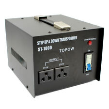 1000Watt Step Up/Down Heavy Duty Electrical Power Voltage Converter Transformer