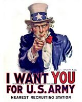 1917 Uncle Sam I WANT YOU FOR US ARMY PHOTO, Recruiting Poster Print World War