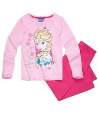 Pyjamas rose pour fille de 2 à 16 ans en 100% coton, 5 - 6 ans
