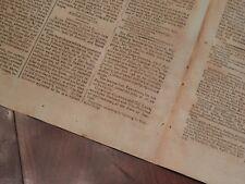 Banastre Tarleton Joins Marquis De Lafayette's Army - Rare Boston 1792 Newspaper